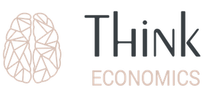 identitate brand logo Think Economics Bucuresti